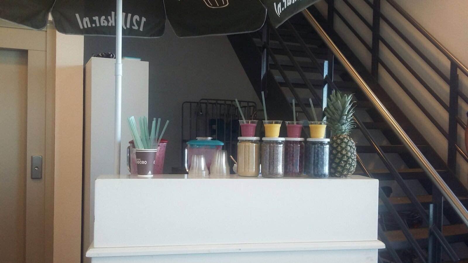 Heerlijke verse sappen uit onze mobiele smoothiebar!